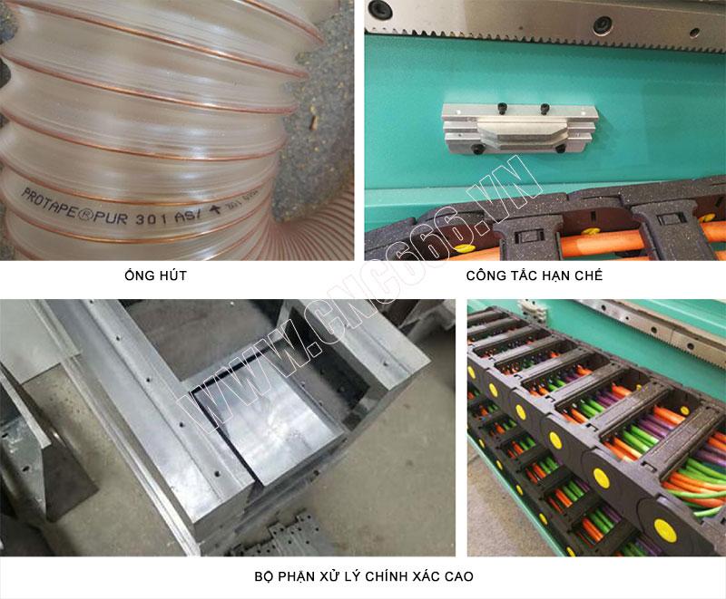 Ống hút, Cống tắc hạn chế và Bộ phận xử lý chính xác cao