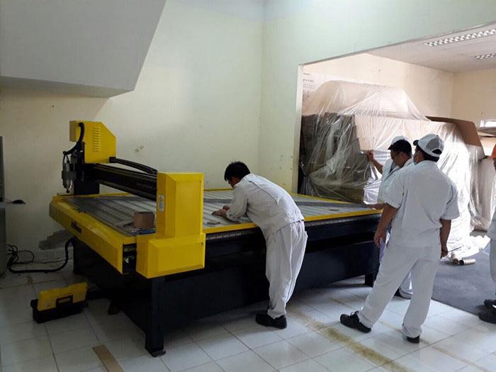 Máy Cắt CNC Jieke 1825 được lắp đặt tại Khu công nghiệp Việt Nam Singapore Bình Dương