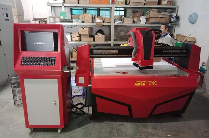 Máy CNC JIEKE 1325A được lắp đặt tại công ty TNHH 3C Công Nghiệp