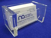 Khắc Cắt CNC Laser Kệ Card Visit Bằng Mica